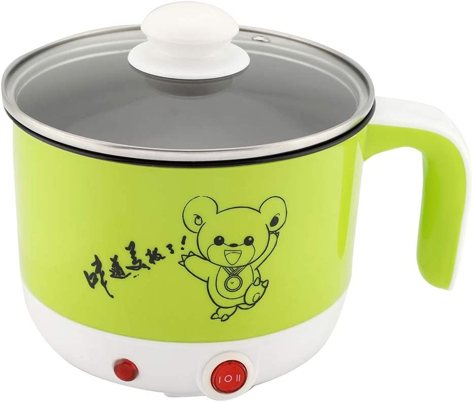 1.5L Stainless Steel Mini Electric Milwaukee Mall Hot Cooker Sale with Pot Egg B