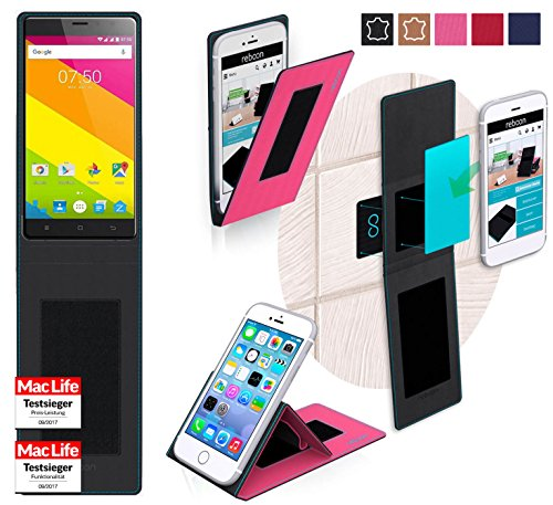 reboon Hülle für Zopo Color C2 Tasche Cover Case Bumper | Pink | Testsieger