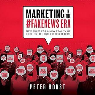 Marketing in the #Fakenews Era audiobook cover art