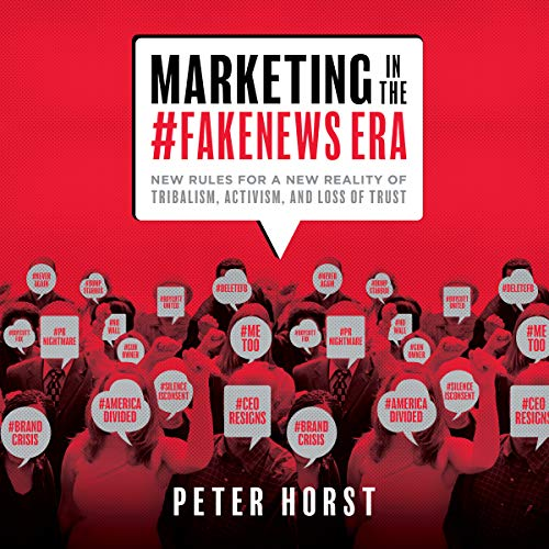 Marketing in the #Fakenews Era audiobook cover art