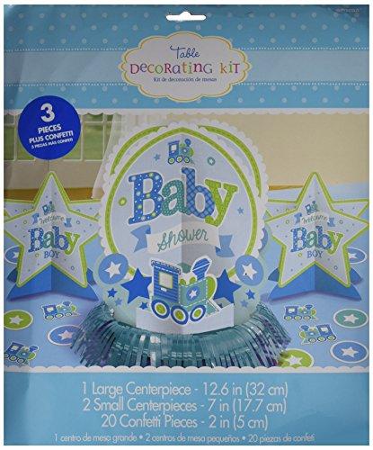amscan 281461 Bienvenue bébé garçon kit de décoration de Table
