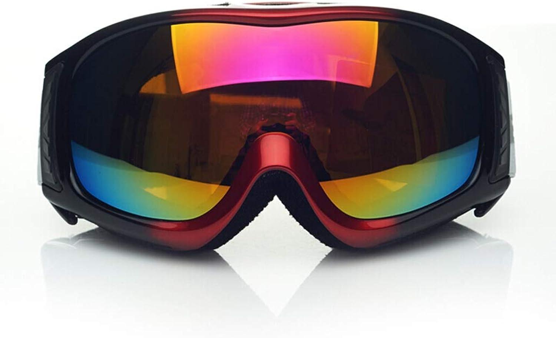 Yxx max Ski Goggles Double-layer Anti-fog And Windproof Mirrors, Myopia, Men's And Women's Goggles