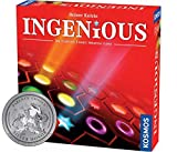 Thames & Kosmos Ingenious | Ultimate Family Strategy Game | 1 – 4 Players | Spiel Des Jahres-Nominated | Fun Abstract Tile Laying | Winner Golden Geek Award, Red, Standard (696116)