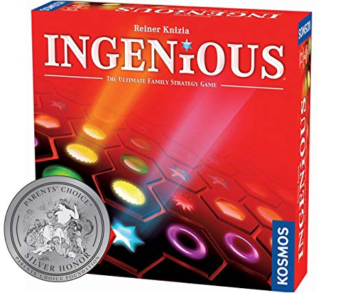 Ingenious | Ultimate Family Strategy Game | 1  4 Players | Spiel Des Jahres-Nominated | Fun Abstract Tile Laying | Winner Golden Geek Award