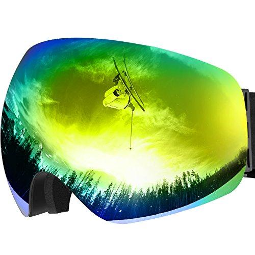 OMORC Masque de Ski Protection UV400, Lunette de...