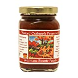 Montana Spiced Crab Apple Preserve -  9 oz Jar - from Bounty Foods this is Vegan Friendly   Gluten-Free   Non-GMO - American Breakfast Essential - Toppings - Desserts - Craft Bread (SCA 9oz)