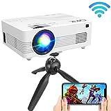 Best Lcd Projectors - QKK Upgraded 4500Lumens WiFi Projector, Full HD 1080P Review