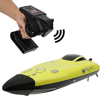 Barco Teledirigido Alta Velocidad, 25 KM/H 2.4G 4 Canales Lancha RC Barco de Carreras, Barcos de Radiocontrol Modelismo RC Barcos para Piscinas & Lagos, Barco de Juguete para Niños & Adultos