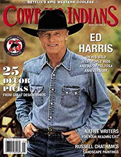 Cowboys & Indians Magazine (January, 2018) Ed Harris Cover