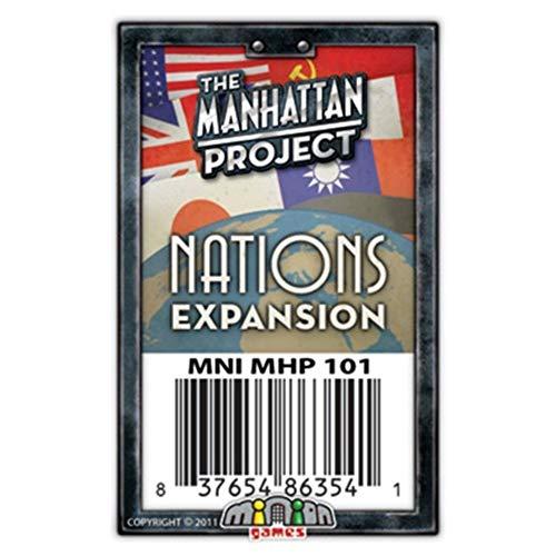 Minion Games MIGMH101 Brettspiel Manhattan Project: Nations Expansion