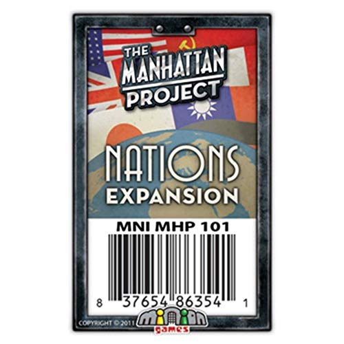 Minion Games MIGMH101 Brettspiel Manhattan Project: Nations Expansion