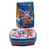 JuniorToys Design für Paw Patrol Süßes Geschenkset (Oster Geschenkset mit Schokoladen-Ei und Brotdose)