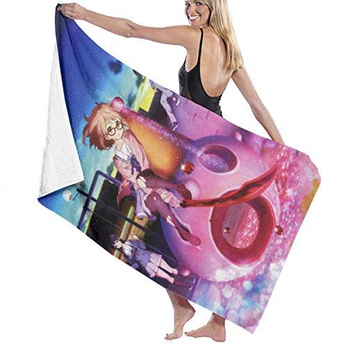 RFVBG Beyond The Boundary Toallas de baño súper absorbentes toallas de baño para gimnasio, playa, SWM Spa