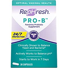 Balances yeast and bacteria to maintain feminine health Just one capsule per day Clinically tested probiotic #1 Trusted Brand Gynecologist Recommended brand