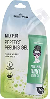 Sponsored Ad - SHINSIAVIEW Milk Plus Perfect Peeling Gel 1.05 Oz (30g) l Lithgt and Portable Spout Pouch Style for Anytime...