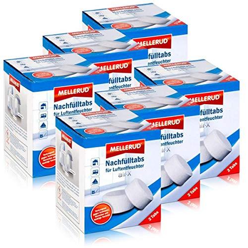 Mellerud Luftentfeuchter air-X Nachfülltabs 2 Tabs (6er Pack)