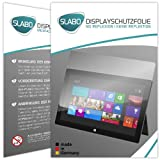 2 x Slabo Bildschirmschutzfolie Microsoft Surface Windows RT Bildschirmschutz Schutzfolie