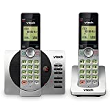 VTech DECT 6.0 Dual Handset Cordless Phone with ITAD, CID, Backlit Keypads