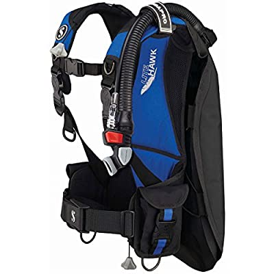 Scubapro Litehawk BCD with Standard Power Inflator, XL/2X (Blue)