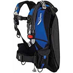 Back flotation technology positions air bladder in the back providing exceptional freedom of movement around chest and shoulders 3-dump deflation system enables divers to dump air from a variety of underwater positions Streamlined air cell technology...