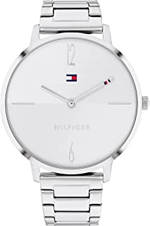 Tommy Hilfiger Womens Analog Quartz Uhr mit Edelstahl Armband 1782336