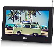 """August DA100D Télévision Portable 10"""" (25,4cm)"""