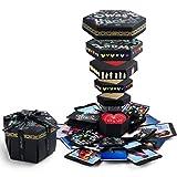 CreatiF Explosion Gift Box | Love Memory DIY Photo Album | Easy Assembly | Surprise Box | Creative Scrapbook Album | Valentines-Anniversary-Birthday-Wedding-Engagement |