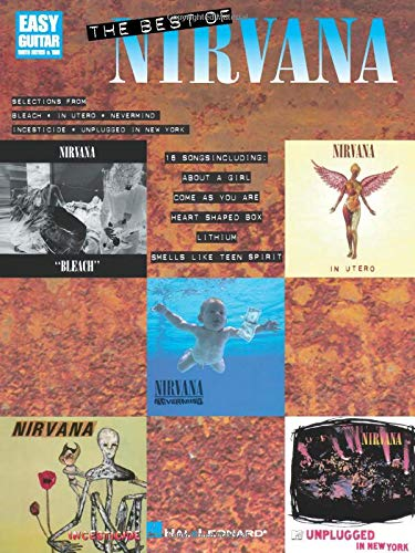 Partition : Nirvana Best Of, Easy Guitar