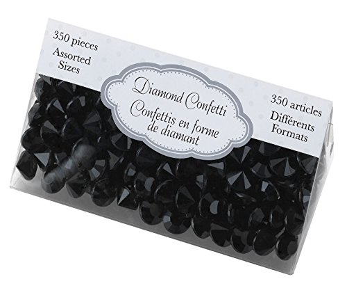 Lillian Rose Diamant Confetti, Noir