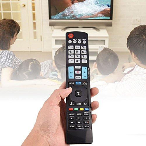 Pangding Mando a Distancia de Repuesto Compatible con LG TV 60LA620S AKB73756504 32LM620T AKB73275618 AKB73756502
