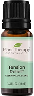 Plant Therapy Tension Relief Essential Oil Blend 10 mL (1/3 oz) 100% Pure, Undiluted, Therapeutic Grade