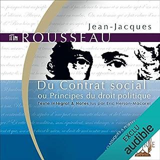Couverture de Du Contrat social - ou Principes du droit politique
