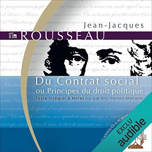 Du Contrat social - ou Principes du droit politique audiobook cover art