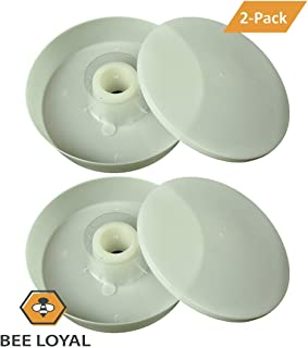 Bee Loyal Rapid Round Bee Feeder - 2 Pack, Easy to Use