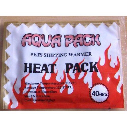 Terra Exotica 50 x Heat Pack 40 h - Wärmekissen für den Tier- oder Pflanzenversand