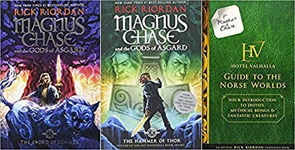 Magnus Chase' series, 'The Sword of Summer' and 'The Hammer of Thor' along with the companion book 'Hotel Valhalla Guide T...