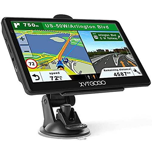 GXXDM Navegación por satélite, 2021 Reino Unido Irlanda Mapas de Europa, Navegación GPS para autocaravanas Camiones HGV, Funciones de códigos Postales, Orientación de carriles POI