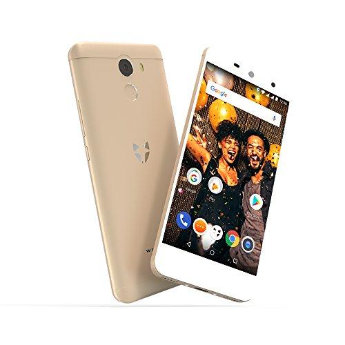 Wileyfox Swift 2 X - Teléfono móvil Libre (Pantalla FHD de 5.2 Pulgadas, 32 GB de Memoria Interna con 3 GB de RAM, Doble SIM 4G, Sistema operativo Android Nougat 7.1.1), Color Dorado