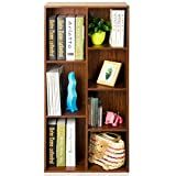 Bookcases Bookshelf Siete Veces estantería estantería Estantería de Madera, Multiuso de Almacenamiento Vitrina Librerías Librerías Estantería (Color : C)