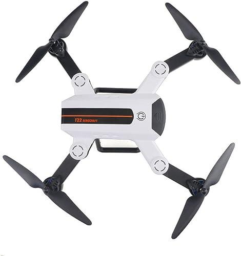 QinMM FPV RC F22 Drohne mit 2.0MP optischem Fluss 120 ° Weißinkel-HD-Kamera, Quadcopter mit Wi-Fi-Training, H nlage, 2,4 GHz Intelligente Batterie Lange ReichWeiß für Anf er