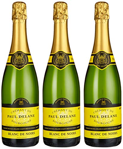 Bailly Crémant de Bourgogne Blanc de Noirs Paul Delane (3 x 0.75 l)