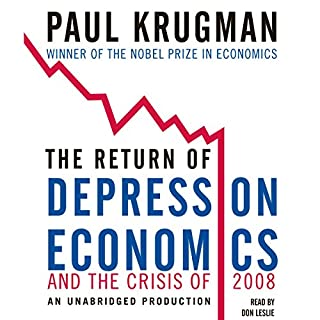The Return of Depression Economics and the Crisis of 2008 audiobook cover art