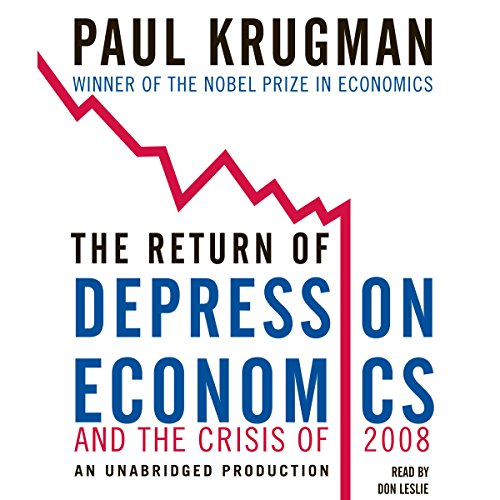 The Return of Depression Economics and the Crisis of 2008  cover art
