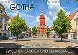 Gotha - zwischen Barock und Renaissance (Tischkalender 2020 DIN A5 quer): Gothas malerische Innenstadt mit vielen Perlen aus Barock und Renaissance (Monatskalender, 14 Seiten ) (CALVENDO Orte) - Val Thoermer
