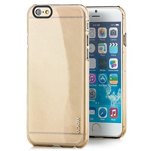 Preisvergleich Produktbild HOCO. Apple iPhone 6 / 6S Hülle Ultra Slim Silikon Case Cover Schutzhülle Softcase Gold