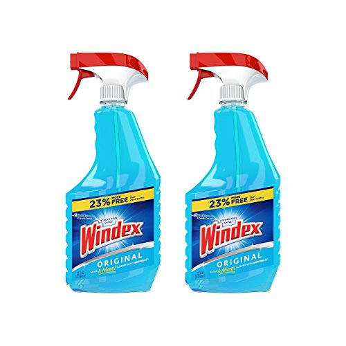glass cleaners Windex Glass & Multi Surface Cleaner, 32 Oz, Pack of 2