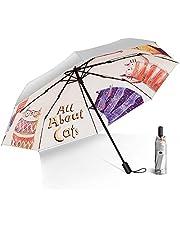 日傘 軽量 折りたたみ傘 折り畳み日傘 UVカット100% 完全遮光 遮熱 紫外線遮断 8本骨 耐風撥水 晴雨兼用 手動 持ち運びに便利 収納ポーチ付き メンズ レディース プレゼント BUNANA