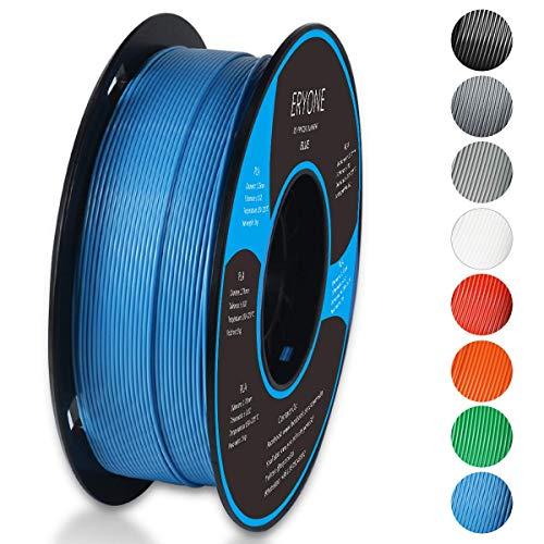 Filamento PLA 1.75mm, Eryone PLA Filamento de PLA para Impresión 3D, 1kg 1 Spool, Azul