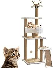 Jueapu Vine Cat Tree, Multi-Layer Sisal Cat Climbing Frame, Large Cat Nest, Cat Perch, Cat Jumping Platform, Cat Tower, Cat Toy, Suitable for Pets, Furry Ball, Pet Entertainment.