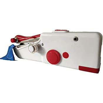 Mini Máquina de Coser Portatil de Viaje + 2 Psc Hilos + 3 Psc ...